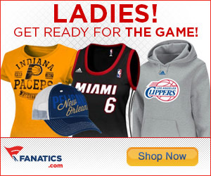Shop officially licensed Ladies NBA fan gear at Fanatics.com!