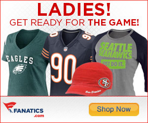 Shop officially licensed NFL Ladies gear at Fanatics.com!