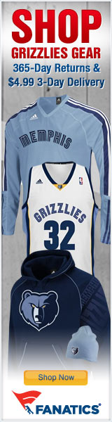 Shop for Official Memphis Grizzlies Team Gear at Fanatics!