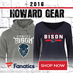 Howard Bison Team Gear
