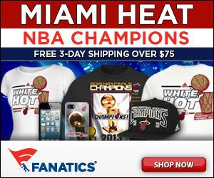 Shop 2013 Miami Heat Champs Gear at Fanatics!
