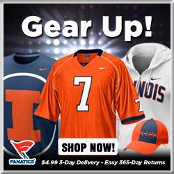 Shop for Illinois Fighting Illini Gear at Fanatics!
