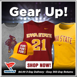Shop for Iowa State Cyclones Gear at Fanatics!
