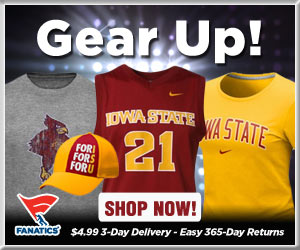 Shop Iowa State Cyclones basketball gear at Fanatics!
