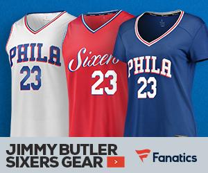 Shop for Jimmy Butler 76ers Gear at Fanatics.com!