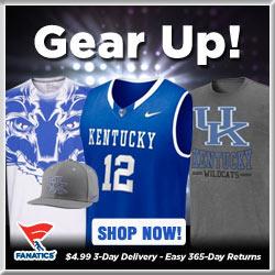 Shop for Kentucky Wildcats Gear at Fanatics!