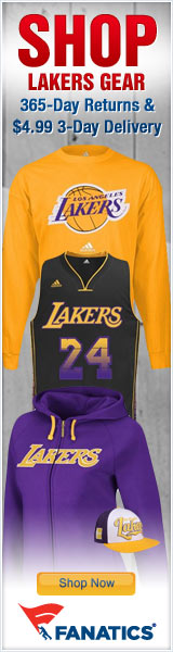 Shop for Official LA Lakers Team Gear at Fanatics!