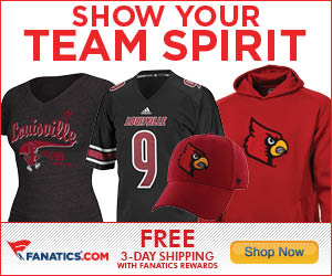 Shop Louisville Cardinals gear at Fanatics.com!