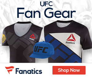 Shop the latest MMA gear at Fanatics.com!