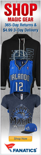 Shop for Official Orlando Magic Team Gear at Fanatics!