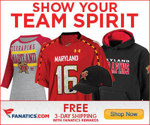 Shop for Maryland Terrapins Gear at Fanatics!