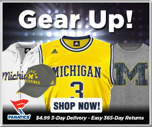 Shop Michigan Wolverines basketball gear at Fanatics!