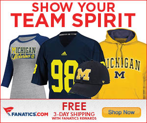 Shop for Michigan Wolverines Gear at Fanatics!