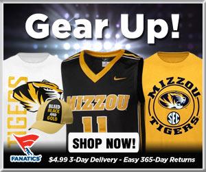 Shop Missouri Tigers basketball gear at Fanatics!