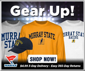 Shop Murray St Racers basketball gear at Fanatics!