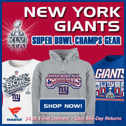 Shop New York Giants NFC Conference Champ Gear at Fanatics!