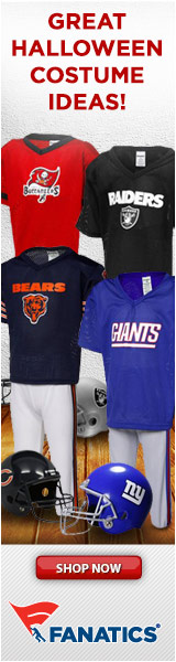 Great NFL Halloween Costumes for Youth at Fanatics!