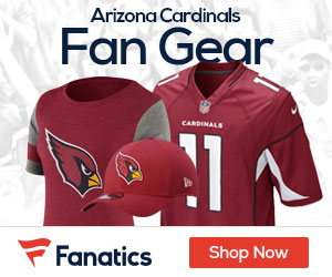 Shop the newest Arizona Cardinals fan gear at Fanatics!