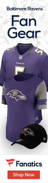 Get Baltimore Ravenes fan gear at Fanatics!