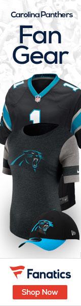 Shop the newest Carolina Panthers fan gear at Fanatics!