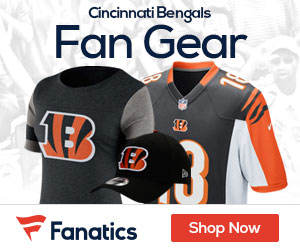 Shop the newest Cincinnati Bengals fan gear at Fanatics!