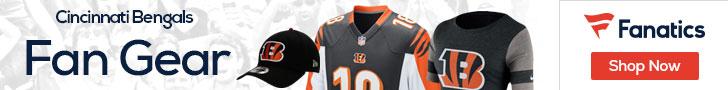 Shop the newest Cincinnati Bengals fan gear at Fanatics!
