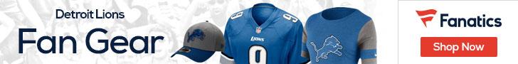 Shop the newest Detroit Lions fan gear at Fanatics!