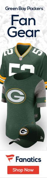 Shop the newest Green Bay Packers fan gear at Fanatics!