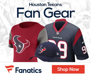 Shop the newest Houston Texans fan gear at Fanatics!