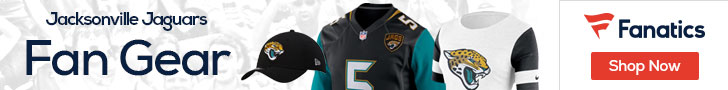 Shop the newest Jacksonville Jaguars fan gear at Fanatics!