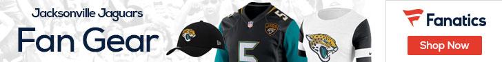Shop the newest Jacksonville Jaguars fan gear at Fanatics!