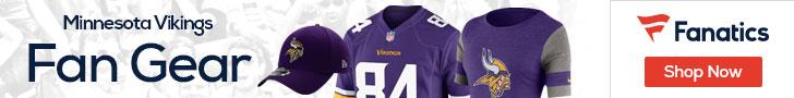 Shop the newest Minnesota Vikings fan gear at Fanatics!