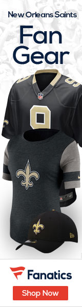 Shop the newest New Orleans Saints fan gear at Fanatics!