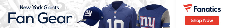 Shop the newest New York Giants fan gear at Fanatics!