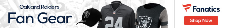 Shop the newest Oakland Raiders fan gear at Fanatics!