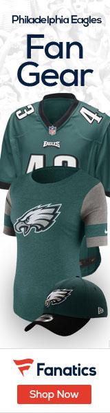 Shop the newest Philadelphia Eagles fan gear at Fanatics!