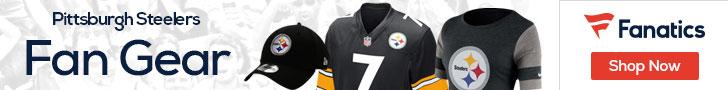 Shop the newest Pittsburgh Steelers fan gear at Fanatics!
