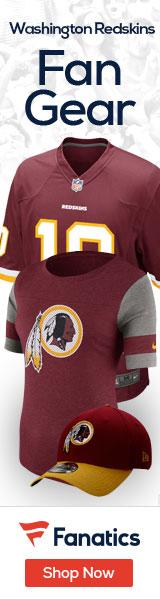 Shop the newest Washington Redskins fan gear at Fanatics!