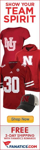 Shop Nebraska Cornhuskers gear at Fanatics!