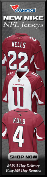 Shop Arizona Cardinals new NFL Nike Jerseys at Fanatics!