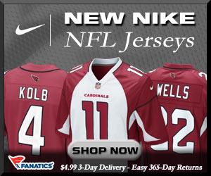 Shop Arizona Cardinals new NFL Nike Jerseys at Fanatics!