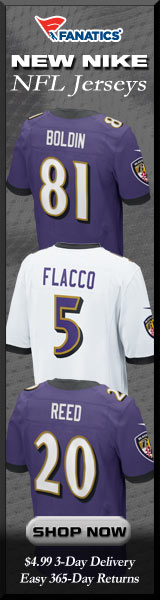 Shop Baltimore Ravens new NFL Nike Jerseys at Fanatics!