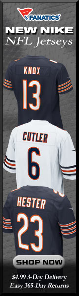Shop Chicago Bears new NFL Nike Jerseys at Fanatics!