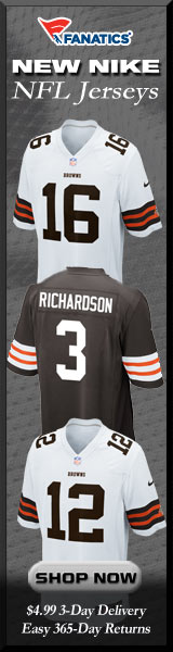Shop Cleveland Browns new Nike NFL Jerseys at Fanatics!