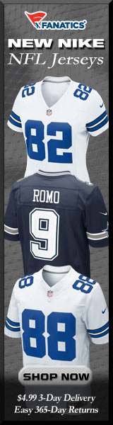 Shop Dallas Cowboys new Nike NFL Jerseys at Fanatics!