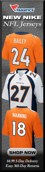 Shop Denver Broncos new NFL Nike Jerseys at Fanatics!