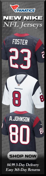 Shop Houston Texans new NFL Nike Jerseys at Fanatics!