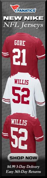 Shop for 2012 Nike San Francisco 49ers Jerseys at Fanatics