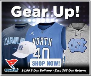 Shop North Carolina Tarheels basketball gear at Fanatics!