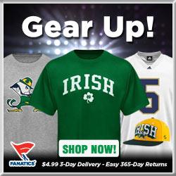 Shop for Notre Dame Fighting Irish Gear at Fanatics!